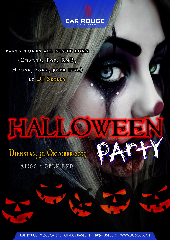 31 Oktober Halloween Feest.Halloween Party 31 Oktober 2017 Bar Rouge